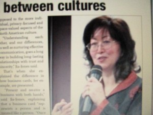 """Workshop Fosters respect between cultures"", by Mary Golem, published in Hanover Post, May 2, 2013"