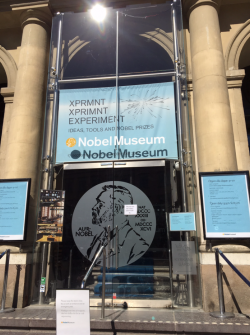 Nobel Museum, Copenhagen, Denmark; photo taken by Kathy Jia-Jones