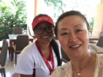 At Riu, Costa Rica, with Diana; eaching Mandarin and Chinese culture at Riu Guanacaste, Costa Rica