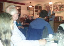 A Night of Story Telling, Music, and Drinking, Dublin, Aug. 2014