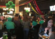 St. Patrick's Day Celebration at a local pub in 2019